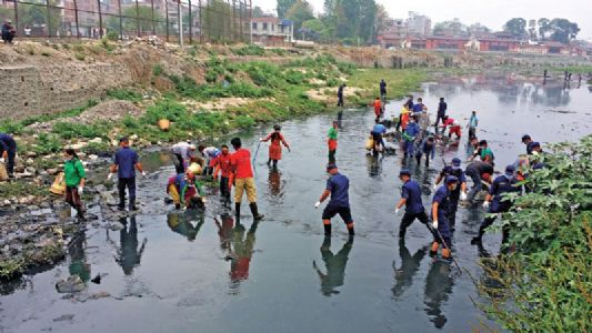 Report on Clean River Campaign